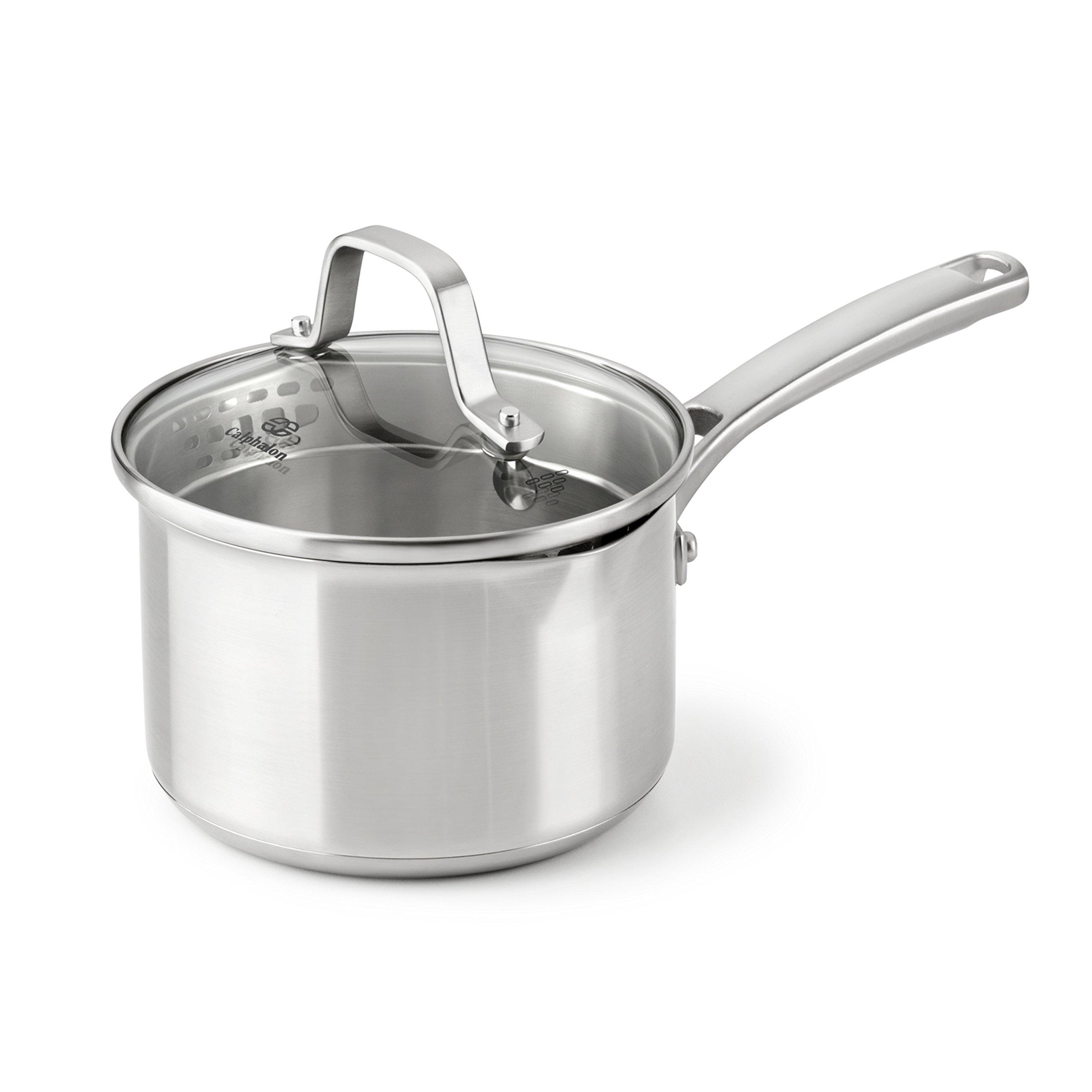 Calphalon Classic Stainless Steel Cookware, Sauce Pan, 1 1/2-quart by Calphalon