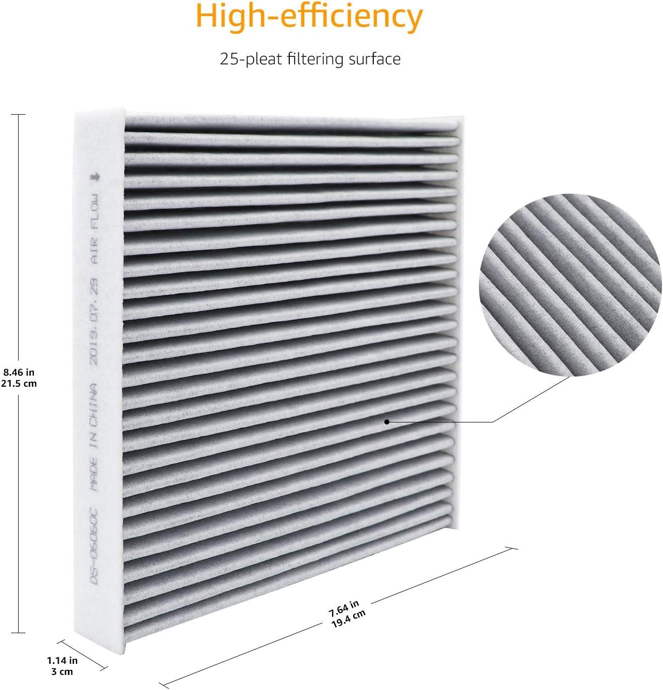 22,6 x 20,2 x 1,7 cm Filtro de aire para veh/ículos Basics