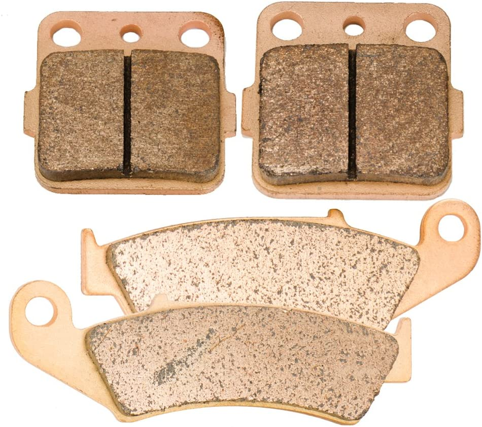 Foreverun Motor Front and Rear Sintered Brake Pads for 1986 Honda ATC 350 X
