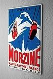 Plaque émaillée Ville Morzine