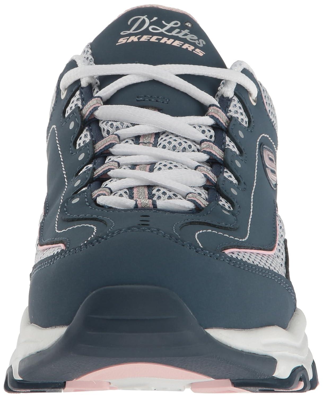 Skechers Sport D'Lites-Life Saver Women's Sneaker B01LNMNVKO 6 B(M) US|Navy/White Life Saver