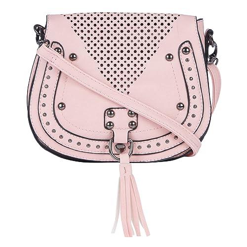c07d196089 Fur Jaden Pink Sling Bag for Women  Amazon.in  Shoes   Handbags