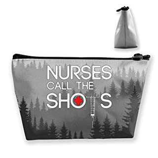 Shop Nurse Calls The Shots Multifunction Travel Makeup Bags Pencil Case Handbag Organizers