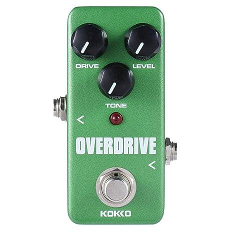 ammoon kokko fod3 Mini Overdrive Pedal portátil Guitarra Pedal de Efectos