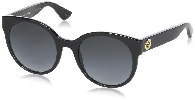 a78e1e9ecf Amazon.com  Gucci 1047BS DL5 Matte Black 1047BS Wayfarer Sunglasses Lens  Category 1  Clothing