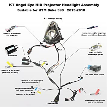 ktm headlight wiring diagram harley headlight wiring wiring diagrams rh parsplus co Projector Wiring Plug Location Ceiling Projector Wiring