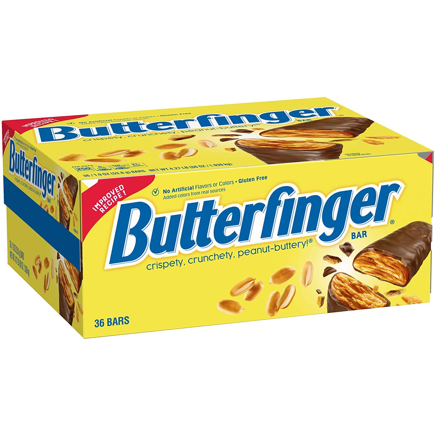 Butterfinger Single, Candy Bars (Pack of 36)