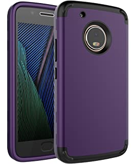 Amazon.com: Spigen Rugged Armor Designed for Moto G5 Plus ...