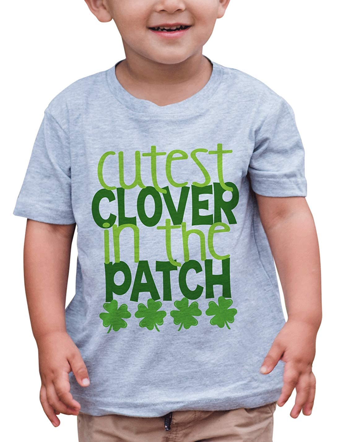 Patricks Day T-Shirt 7 ate 9 Apparel Kids Cutest Clover St