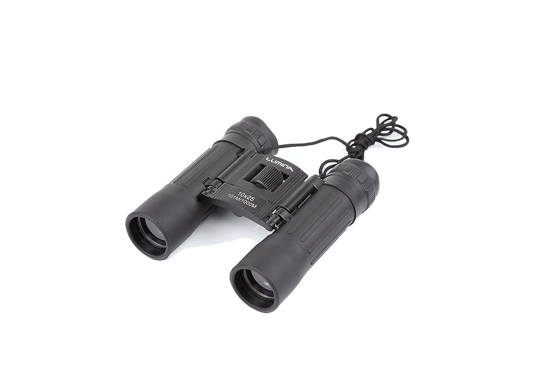jzb81 10 x 25の強力な双眼鏡大人子供、ポータブル双眼鏡for Bird Watching Stargazing観光アウトドア登山旅行狩猟スポーツゲームコンサート、withストラップ携帯ケース(ブラック) B078SPXNZS
