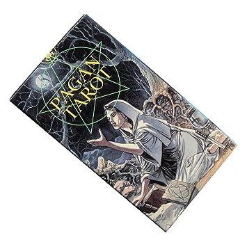 Baraja Pagan Tarot por Gina M. Pace, Mazo de 78 Cartas con ...