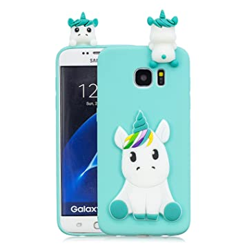 coque samsung galaxy s6 edge licorne