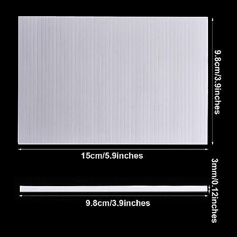 3,9 x 0,12 x 0,07 Zoll 500 St/ücke Doppelseitige Schaumstoff Klebestreifen Doppelt Klebende 3D Schaumstoff Klebeb/änder Schaumstoff Popstreifen Klebebefestigung f/ür Scrapbooking oder B/üro