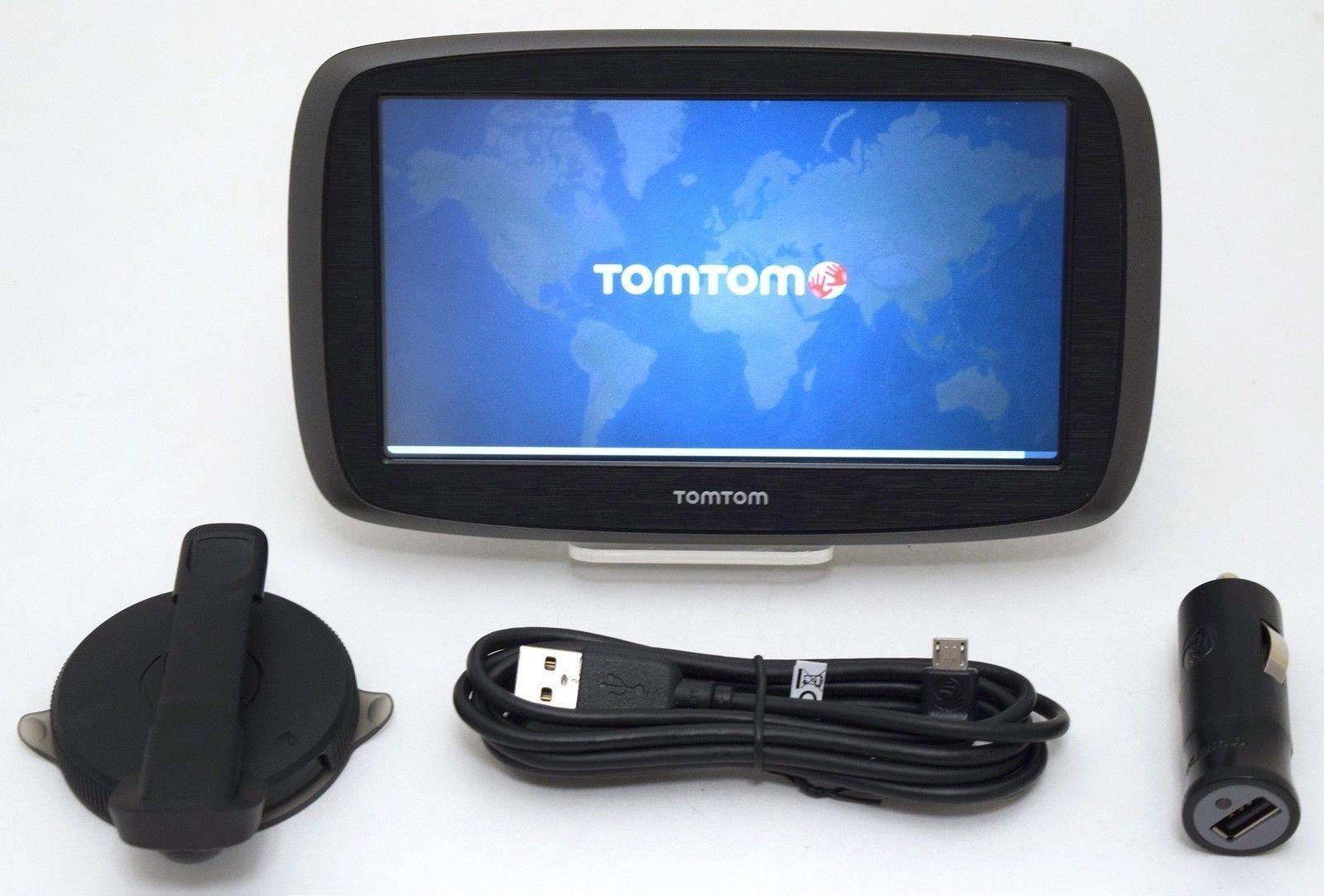 TomTom GO 60 3D Portable 16gb GPS Car Navigation LIFETIME US Maps & Traffic