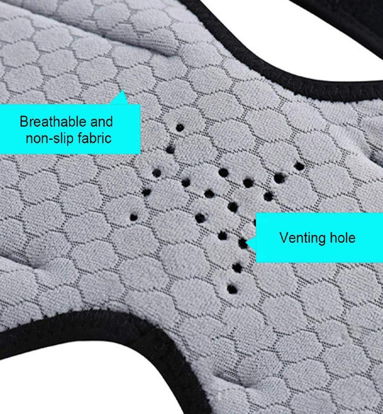 Protezioni per Il Tessuto in Tessuto Traspirante e Anti-Slip Lomsarsh Ginocchiere di Sostegno per Il Supporto del Sollevamento di Potenza