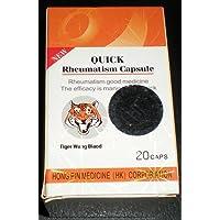 Quick Rheumatism Capsules Tiger Wang Biaod 20 Herbal Capsules