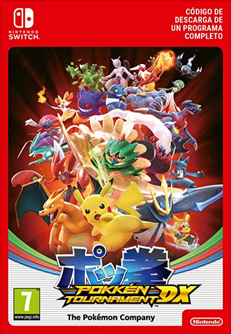 Pokkén Tournament DX | Switch-Download Code: Amazon.es: Videojuegos