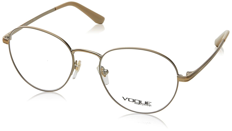 Matte Cream//Pale Gold Vogue VO4024 Eyeglass Frames 996-50