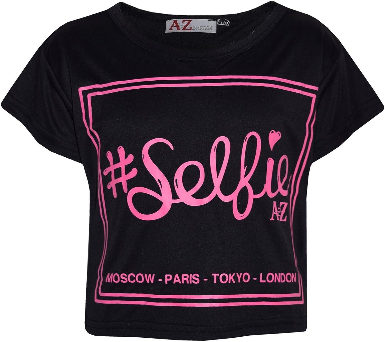 a2z4kids Kids Girls Paris Printed Trendy Top /& Fashion Legging Set New Age 7 8 9 10 11 12 13 Years
