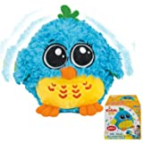 My Dancing and Singing Bird Mr. Blue - Musical Toys for Toddlers and Infants. Baby Singing Funny Owl Toy. Sound and Touch Act