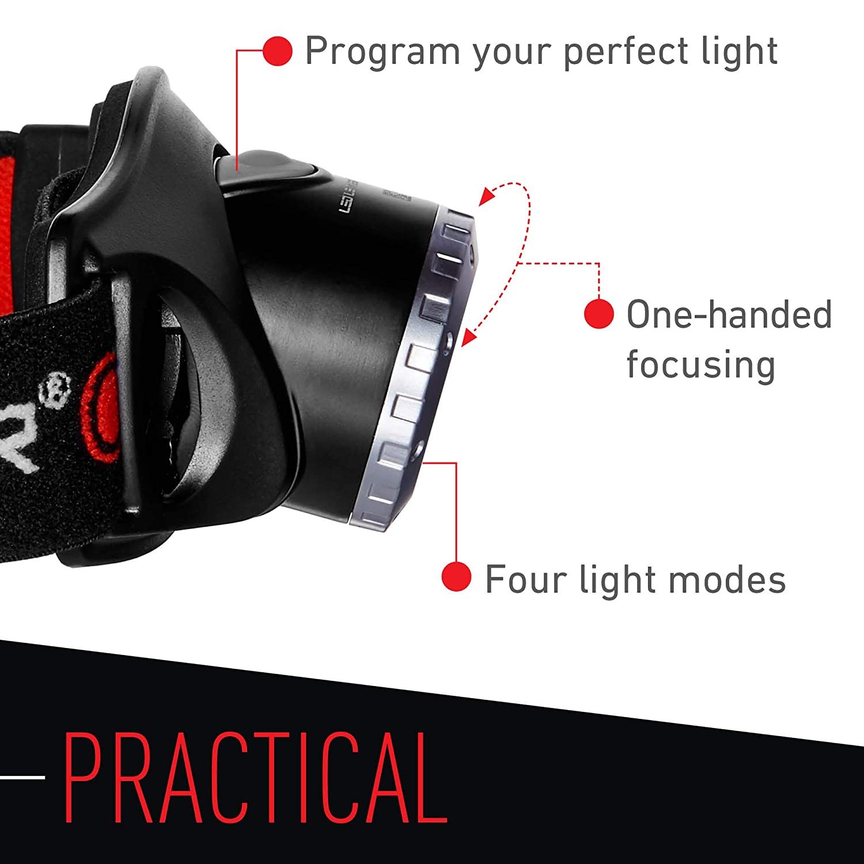Black H7.2 Headlamp LED Lenser