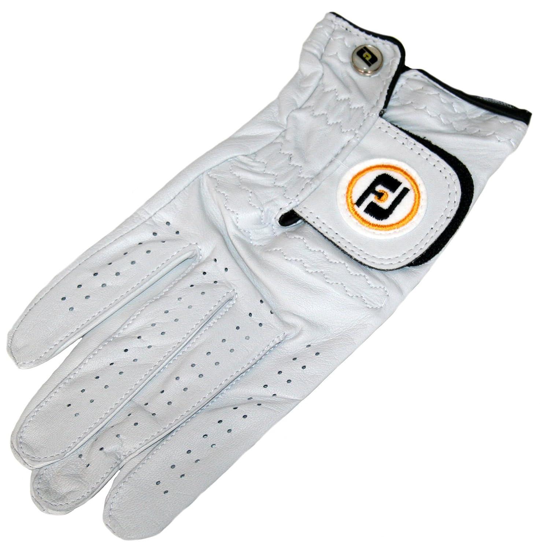 FootJoyメンズsta-sofゴルフグローブ、フィットon Right Handミディアムラージ、パールホワイト、右   B071DQLQHJ