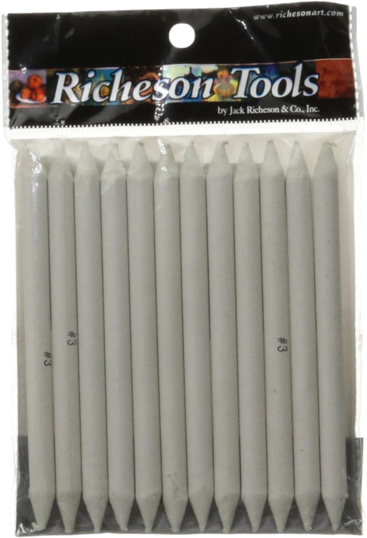 Jack Richeson 12-Piece Stomp Blender Set, Size 3