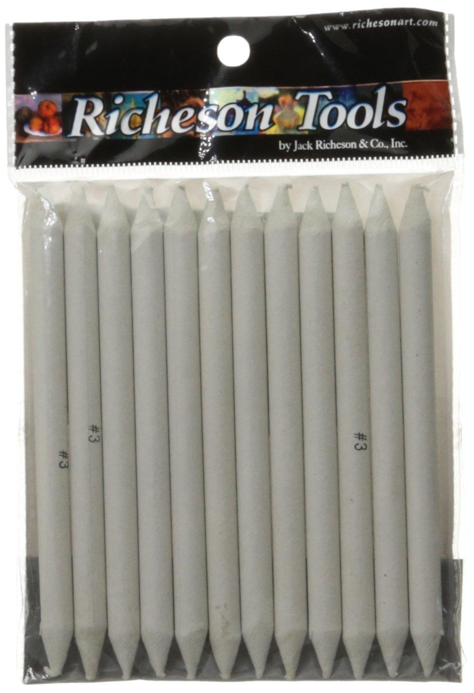 Jack Richeson 12-Piece Stomp Blender Set, Size 3 710203