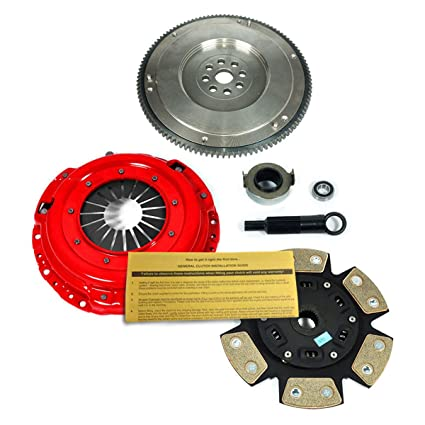 Amazon.com: EFT RACING 3 CLUTCH KIT &HD FLYWHEEL SET B18A1 B18B1 B18C1 B18C5 B20B B20Z HYDRO: Automotive