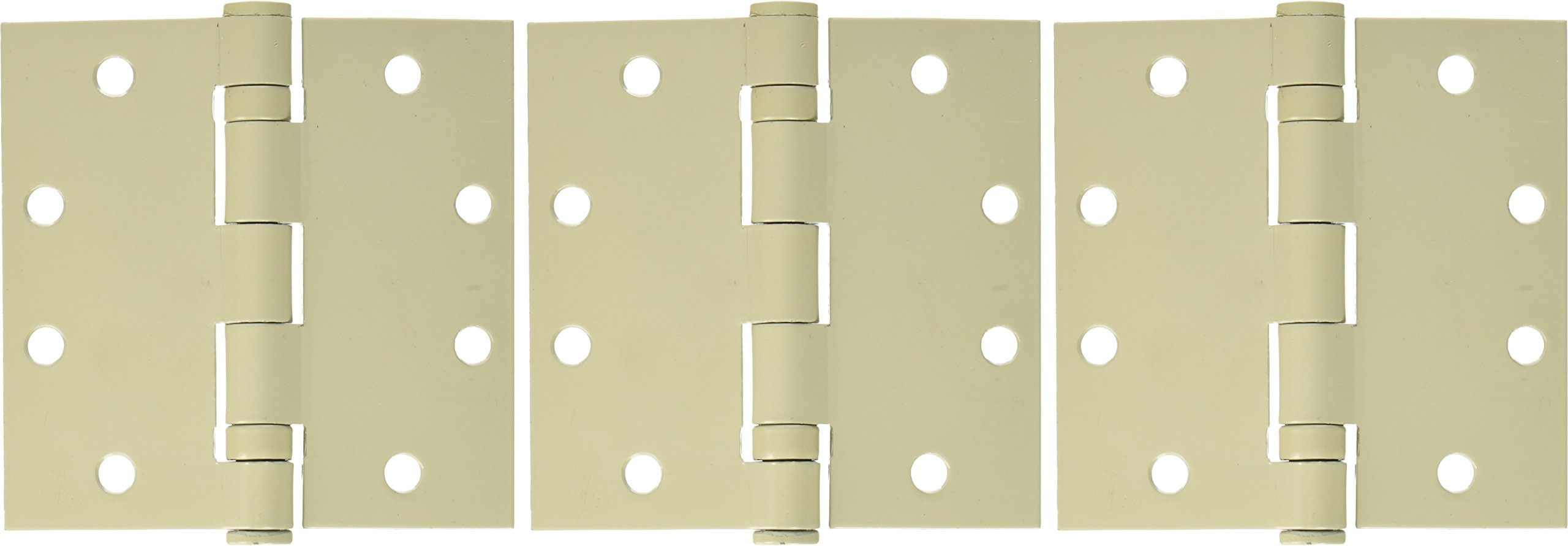 Hager 1279B00450045P000N Architectural Hinge, 4.5''x4.5'', USP NRP Finish (Pack of 3) by Hager