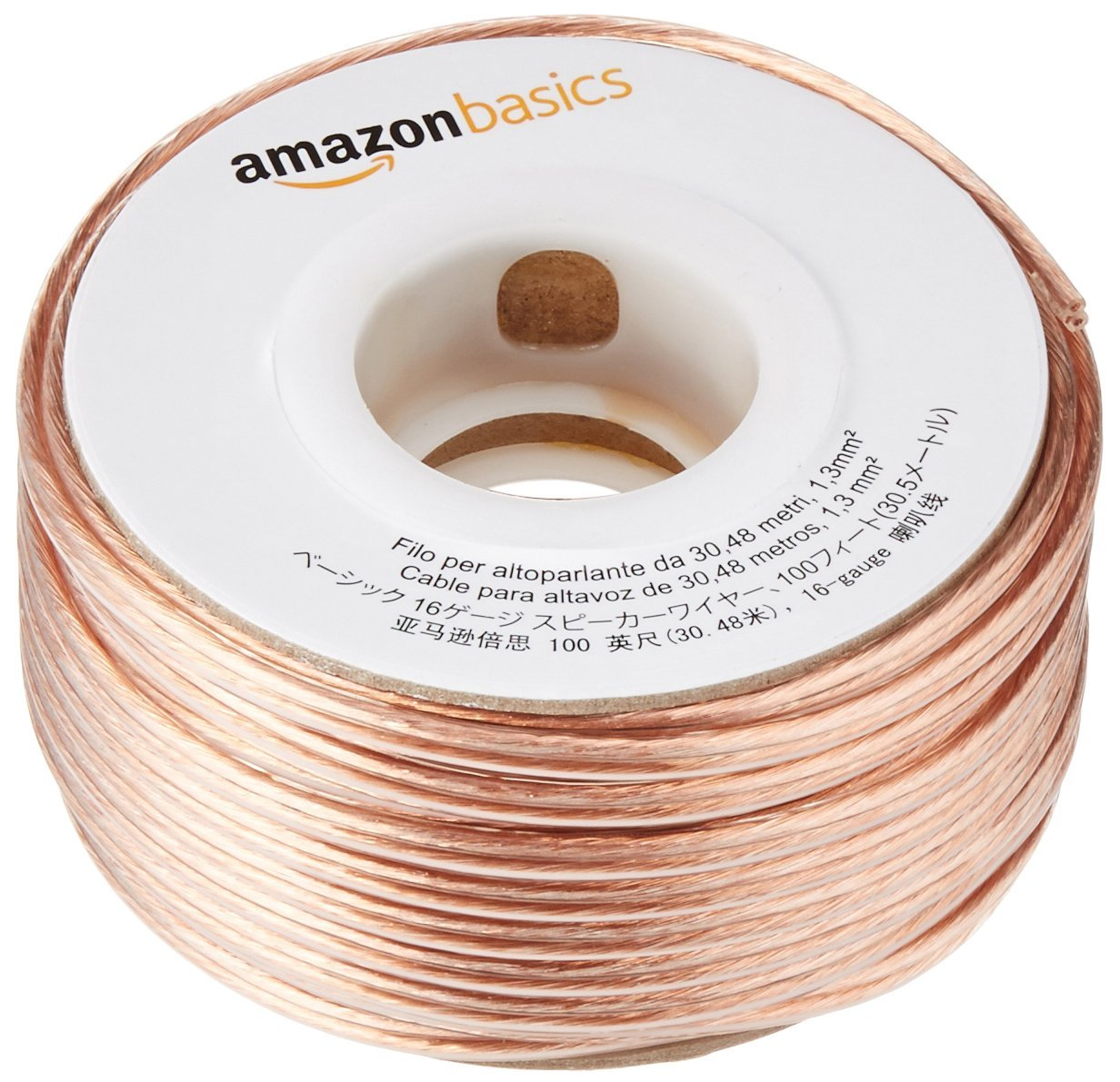 AmazonBasics 9-Gauge Speaker Wire - 9 Feet