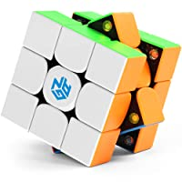 Gan 354 M 3x3 Speed Cube Stickerless Gan 354M Gans 3x3 Magnetic Cube Puzzle Toys for Kids Toddlers