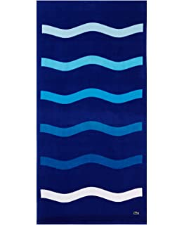 Lacoste Kane Beach Towel Blue
