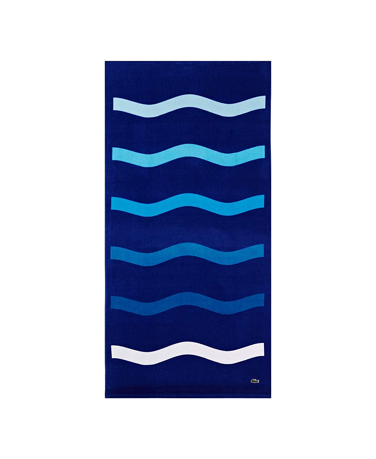 The Lacoste Kane Beach Towel travel product recommended by Jules Barker on Lifney.