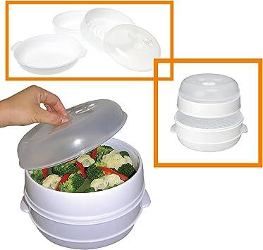 Amazon.com: Handy Gourmet - Vaporizador de microondas de 2 ...