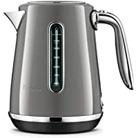 Breville Soft Luxe Kettle, Smoked Hickory, BKE735SHY