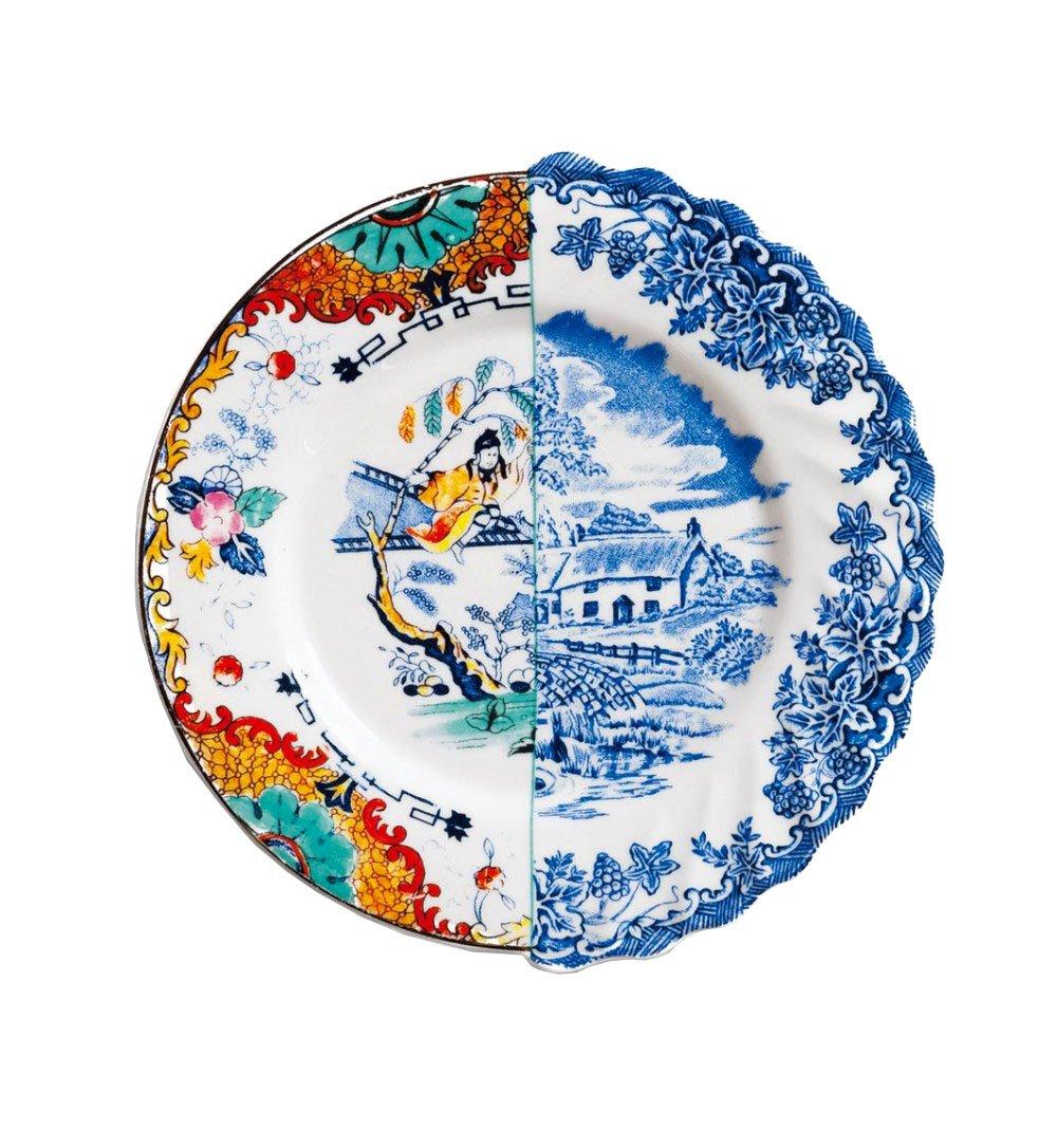 Seletti Hybrid - Dessert plate Valdrada Multicolor - Valdrada 2334
