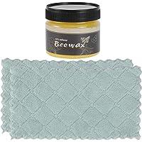 ibasenice Tempero Madeira Beewax-Polimento Cera de Abelhas de Madeira Cuidados Cera de Abelhas Beewax Piso Cera…