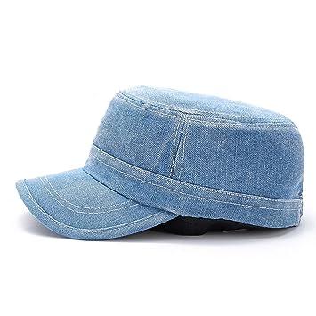 ALWLJ Baseball Caps einstellbar Einfache Baumwolle Jean Mützen ...