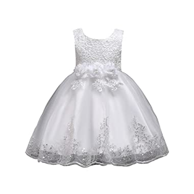 FKKFYY 1-10 Years Girl Dresses Party Wedding Pageant Special Occasion Dress
