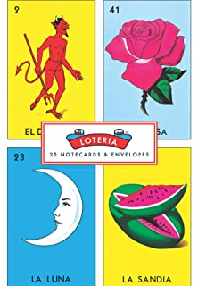 Loteria: 20 Notecards & Envelopes