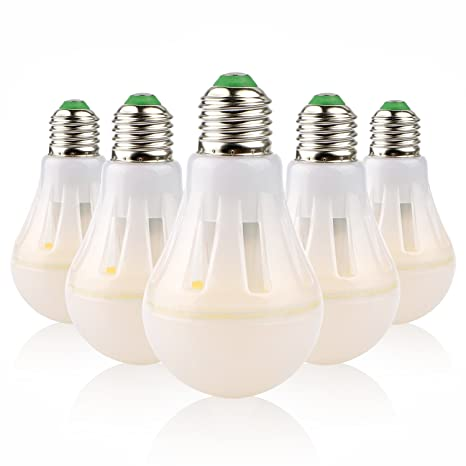 [Pack de 5] Bombilla LED E27 Starker LightenPro - Elegancia, Eficiencia (6W