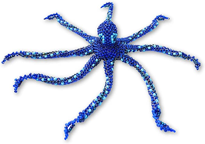 Silvertone Mini Green Tree Frog Blue Charm Beads Set of 3