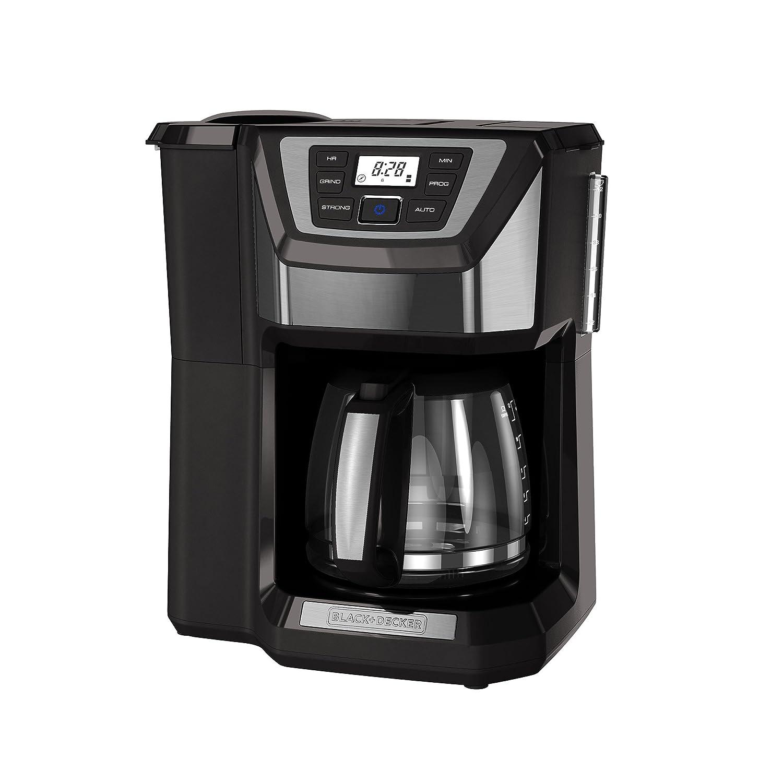Amazon.com: Cafetera Black+Decker. Molinillo y cafetera para ...