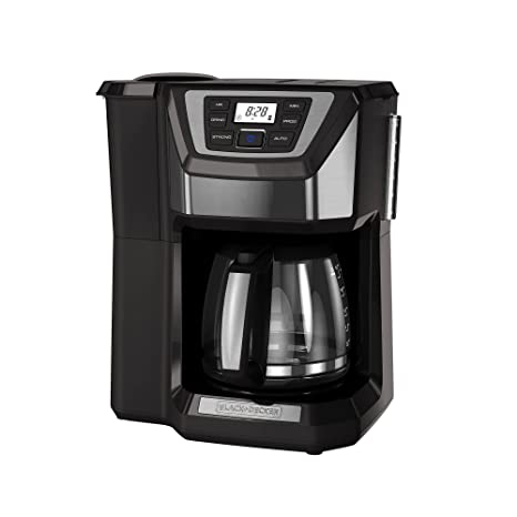Amazon.com: Cafetera Black+Decker. Molinillo y cafetera para ...