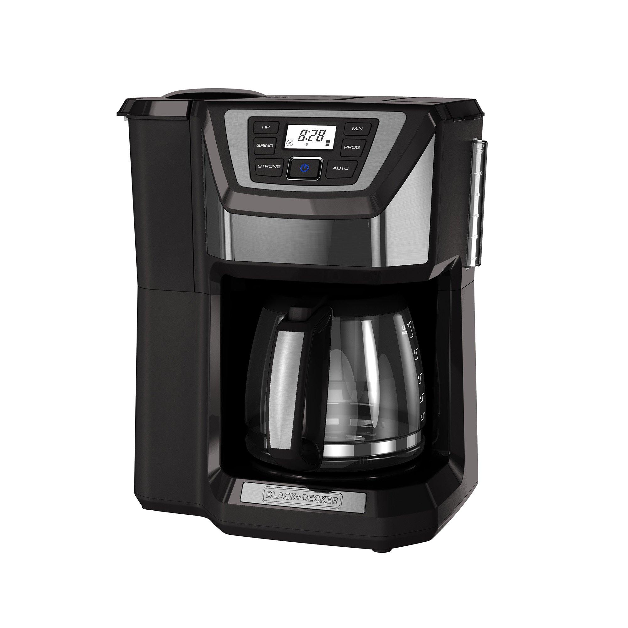 BLACK+DECKER CM5000GD 12-Cup Mill and Brew Coffee Maker, Black/Grey by BLACK+DECKER
