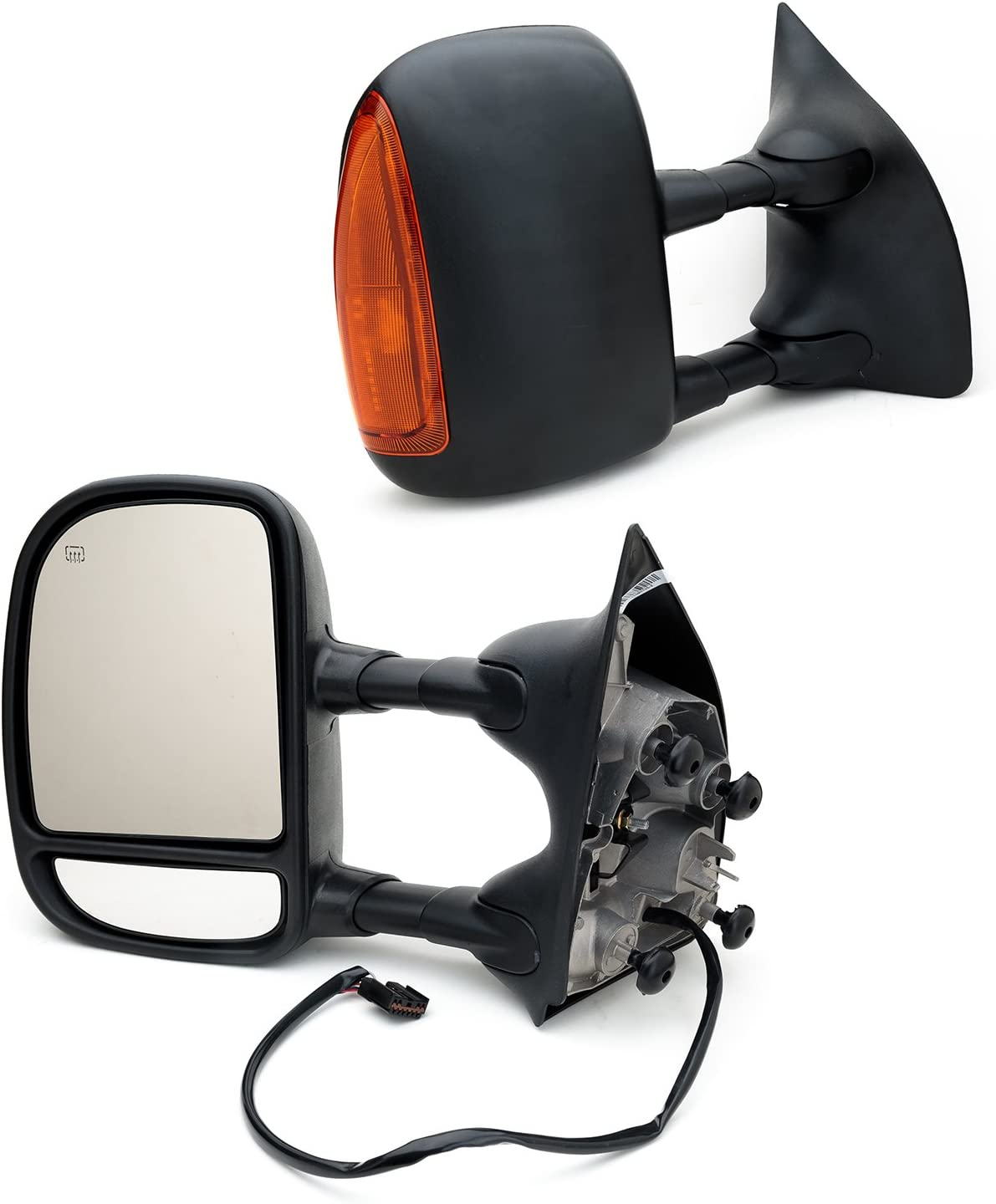 New Passenger Side Power Operated Mirror For Ford F-Series Super Duty 1999-2007