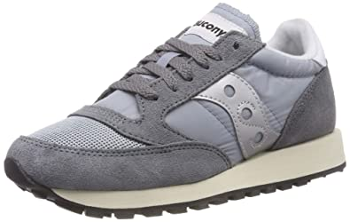 brand new 5f4b5 e2e3d Saucony Jazz Original Vintage Sneakers Basses Femme, Gris (Grey Blue White  39