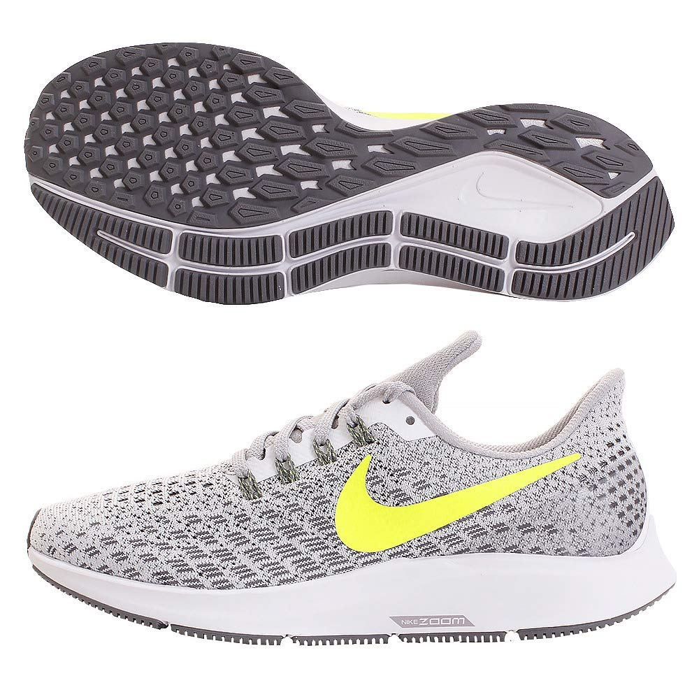 White Volt Gunsmoke Atmosphere Grey Nike Women's Air Zoom Pegasus 35 Running shoes