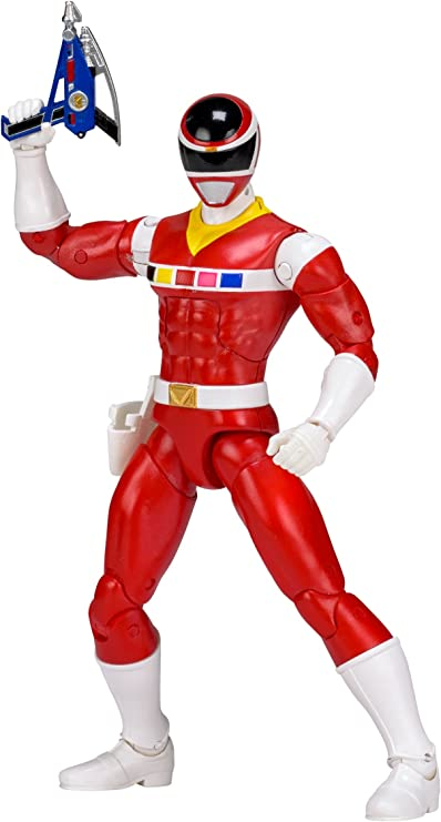 Amazon Com Power Rangers In Space 6 5 Inch Red Ranger Legacy